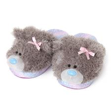 Me to You Bear One Size Slip-On Plush Slippers