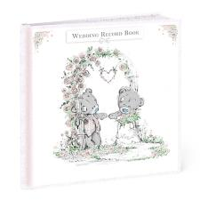 Me to You Bear Wedding Record Keepsake Book