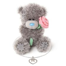 "5"" Bridesmaid Me To You Bear & Necklace Gift Set"