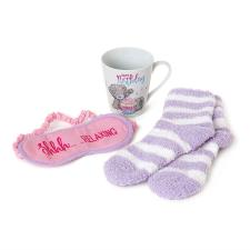 Birthday Mug, Socks & Eye Mask Me To You Bear Gift Set