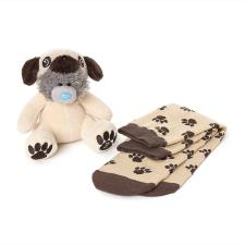 "6"" Dressed As Pug Onesie Plush & Socks Me To You Bear Gift Set"