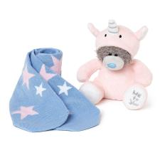 "6"" Dressed As Unicorn Onesie Plush & Socks Me to You Bear Gift Set"