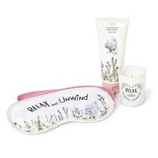 Eye Mask, Lotion & Candle Me to You Relax & Unwind Gift Set