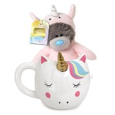 "5"" Dressed As Unicorn Me to You Bear Mug & Plush Gift Set"