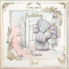 A Very Special Birthday Handmade Me to You Bear Birthday Card