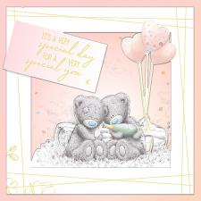 A Very Special Day Handmade Me to You Bear Birthday Card