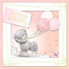 Just For You Handmade Me to You Bear Birthday Card