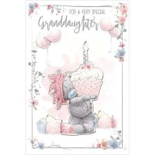 Granddaughter Me to You Bear Birthday Card
