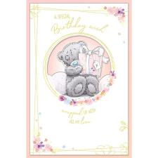 Special Birthday Wish Handmade Me to You Bear Birthday Card