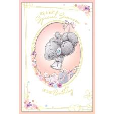 Someone Special Handmade Me to You Bear Birthday Card