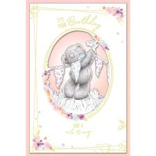 Hanging Bunting Handmade Me to You Bear Birthday Card