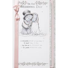 On Our Wedding Day Luxury Me to You Bear Card