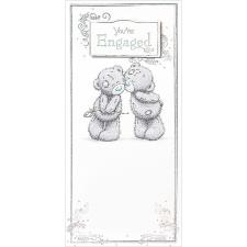 You're Engaged Me To You Bear Engagement Card