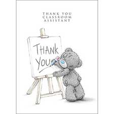 Thank You Classroom Assistant Me to You Bear Card