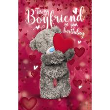 3D Holographic Boyfriend Me to You Bear Birthday Card