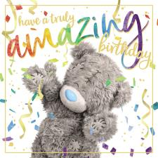 3D Holographic Amazing Birthday Me to You Bear Card