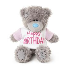 "4"" Happy Birthday T Shirt Me to You Bear"