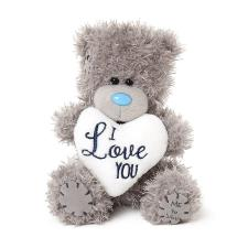 "5"" I Love You Padded Heart Me To You Bear"