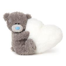 "5"" Holding Padded White Heart Me to You Bear"