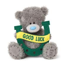 "5"" Good Luck Horseshoe Me to You Bear"