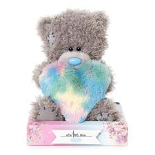 "7"" Padded Multi Coloured Heart Me To You Bear"