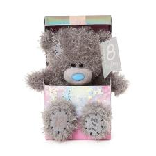 "7"" 18th Birthday Me to You Bear In Gift Box"