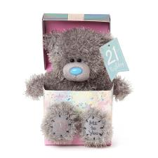 "7"" 21st Birthday Me to You Bear In Gift Box"