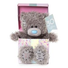 "7"" 30th Birthday Me to You Bear In Gift Box"