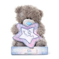 "7"" You Are Amazing Padded Star Me to You Bear"