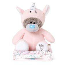 "7"" Pink Unicorn Onesie Me to You Bear"
