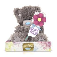 "7"" Personalise Your Own Holding Flower Me to You Bear"