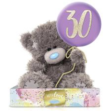 "7"" Holding 30th Birthday Balloon Me to You Bear"