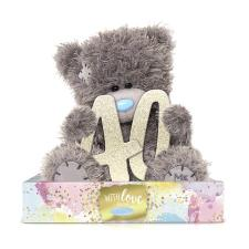 "7"" Holding 40th Birthday Numbers Me to You Bear"