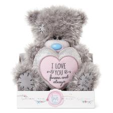 "9"" Love You Padded Heart Me To You Bear"