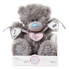 "9"" I Love You Mum Bunting Me To You Bear"
