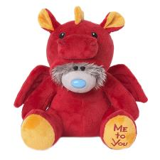 "9"" Dressed As Red Dragon Onesie Me to You Bear"