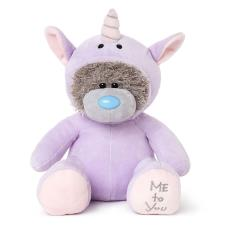 "9"" Purple Unicorn Onesie Me to You Bear"