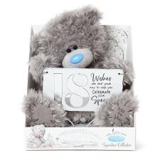 "9"" Holding 18th Birthday Plaque Me to You Bear"