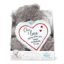 "9"" One I Love Padded Heart Verse Me to You Bear"