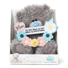 "9"" Mum Flower Banner Me to You Bear"