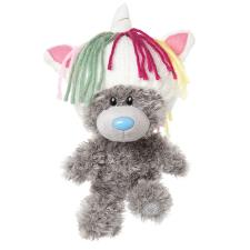"9"" My Dinky Bear Unicorn Hat Me to You Bear"