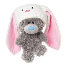"9"" My Dinky Bear Rabbit Hat Me to You Bear"