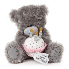 "12"" Holding Birthday Cake Me to You Bear"