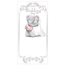 Wedding Day Me to You Bear Money / Gift Wallet