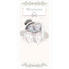 Wedding Day Me to You Bear Gift / Money Wallet