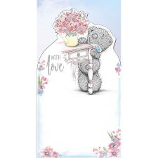 With Love Bear By Dresser Me to You Bear Birthday Card
