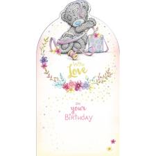 With Love Tatty Teddy Tangled in Ribbon Me To You Birthday Card