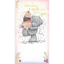 Birthday Wish Me to You Bear Birthday Card