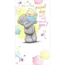 Special Day Special You Me to You Bear Birthday Card