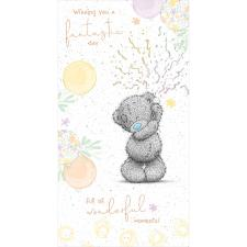 Birthday Party Poppers Me to You Bear Birthday Card